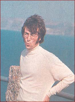 Absolute Elsewhere The Spirit Of John Lennon Magical Mystery Tour 1 John Takes A Break